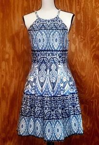 Vince Camuto halter dress